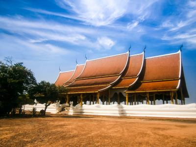 Wat Phu Prao - Ubon Ratchathani, Thailand (วัดภูพร้าว)