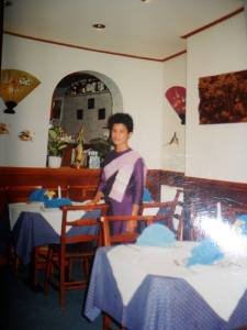 Back in the day: Keown - Thai Restaurant , Lincoln, England.