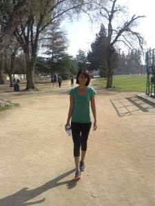 Exercise in the park