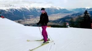 Khun Sea takes to the ski slopes