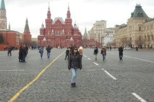 Khun Dee Dee in Moscow