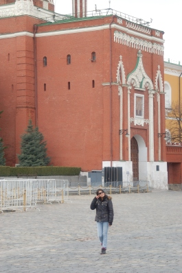 In Moscow, Russia