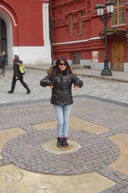 Khun Dee Dee in Moscow