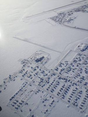 The area of Barrow, Alaska