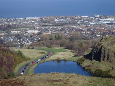 เอดินเบิร์ก (View from Arthur' Seat Hill Edinburgh)