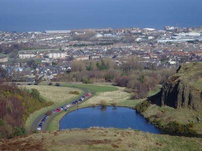 เอดินเบิร์ก (View from Arthur' Seat Hill Edinburgh)