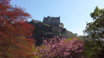 เอดินเบิร์ก สก๊อตแลนด์ (Edinburgh Castle)