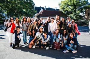 ถ่ายกับลูกศิษย์ ที่เรียนคอร์สวิชาสังคมนอร์เวย์ ที่ Oslo