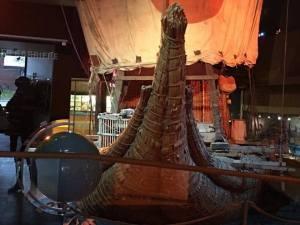 แพ Kon-Tiki ที่ลอยไปถึงเกาะ Easter Island ที่ Bygdøy Oslo
