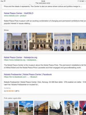 นอร์เวย์ เป็นประเทศ ที่แจก Nobel Peace