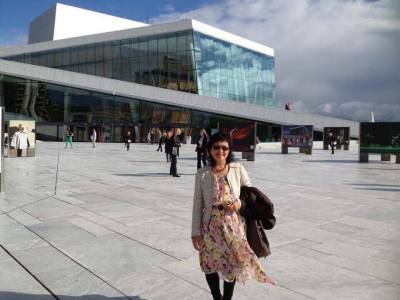 Opera House โรงละคร โอเปร่า Oslo