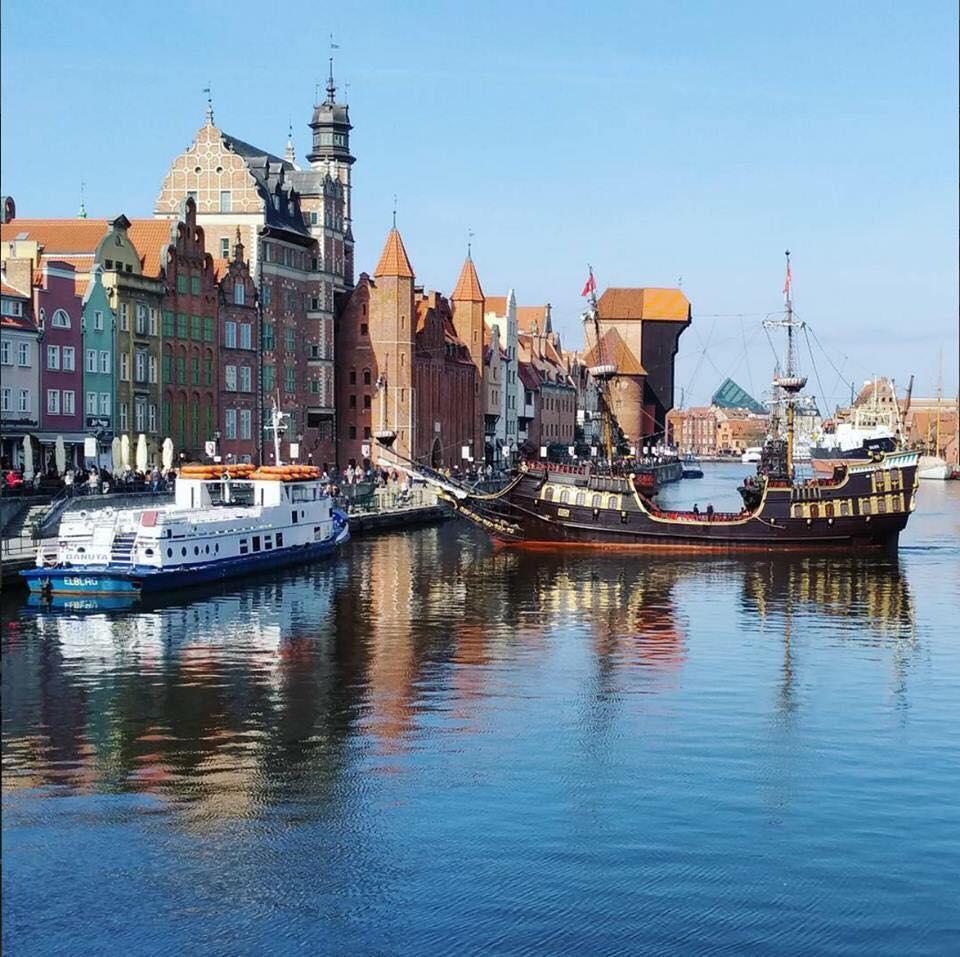 โปสการ์ดจาก Gdansk กดัญสก์ ประเทศโปแลนด์